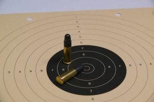 Kaart met .22LR munitie